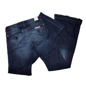 HUDSON Jeans Women 26 FERRIS FLARE Dark NEW